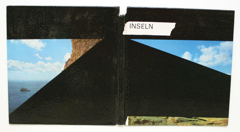 """""""Inseln"""" Lack auf Buchrücken 25 x 41 cm"""