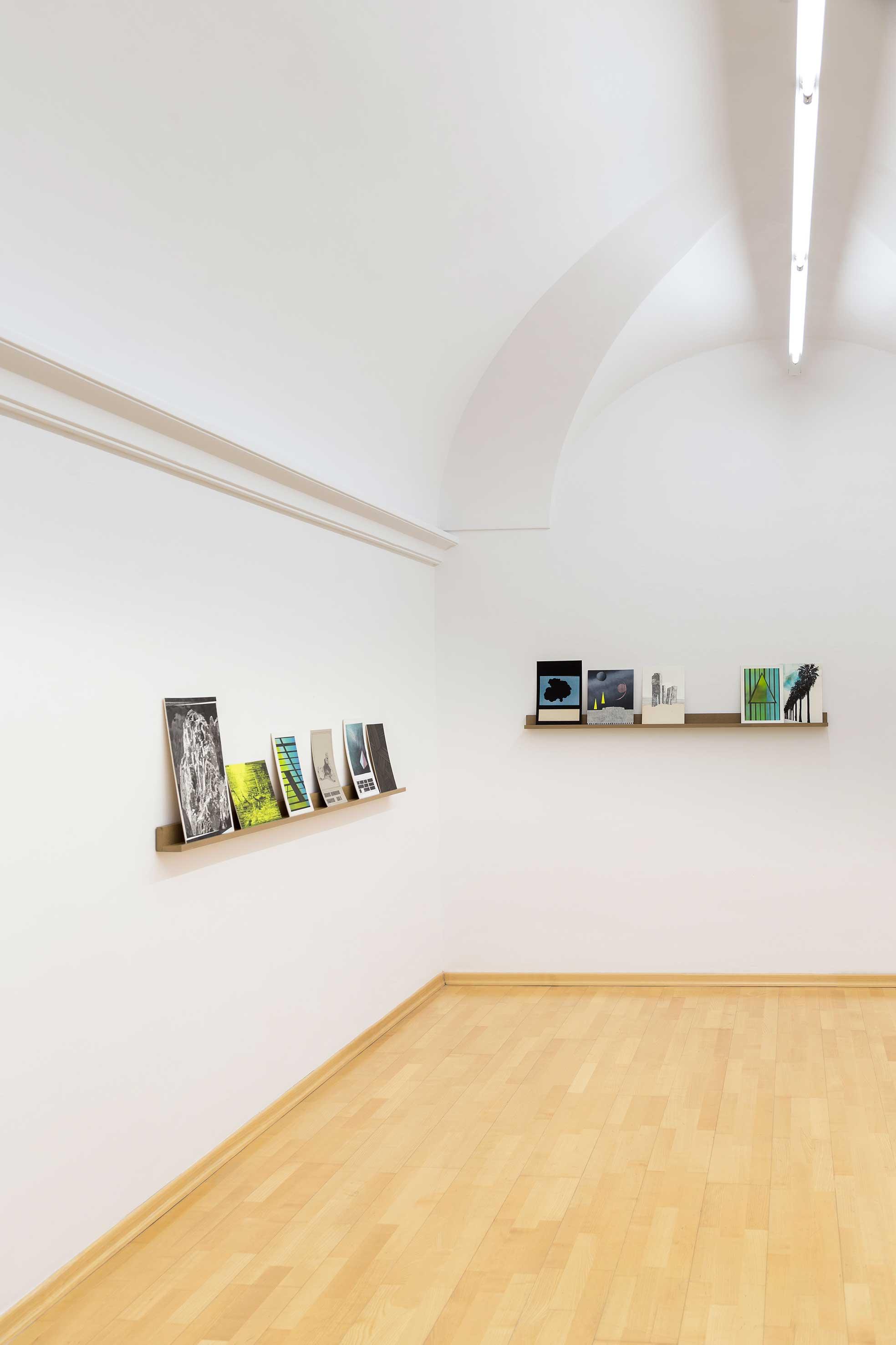 """Ausstellungsansicht """"yet I am certain as can be"""" im NÖ-DOK St. Pölten """"Kulturpreisträger des Landes Niederösterreich 2016"""" (Foto Sonja Dürnberger)"""