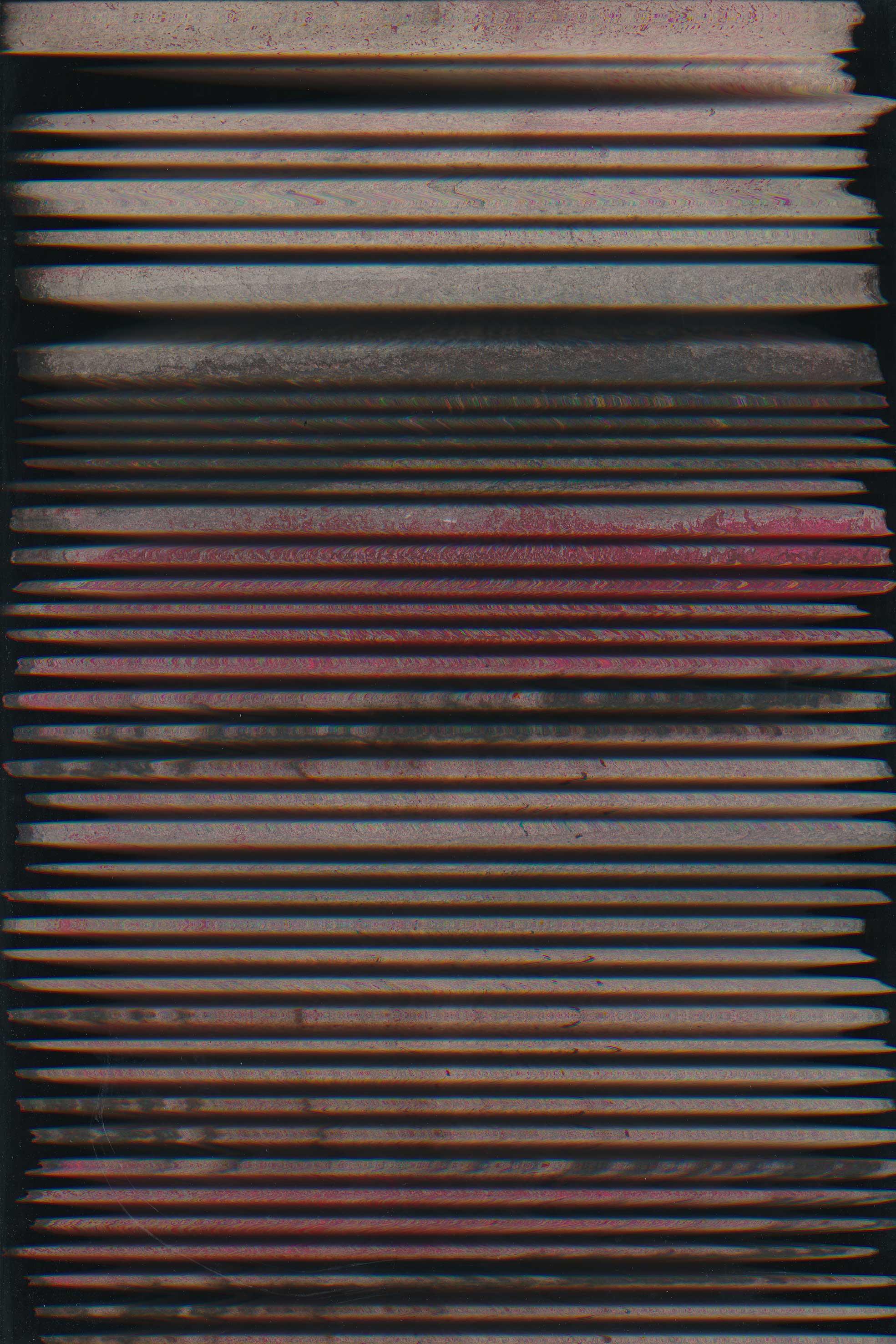 """Oberflächenabtastung"" Lambdaprint 60 x 40 cm"